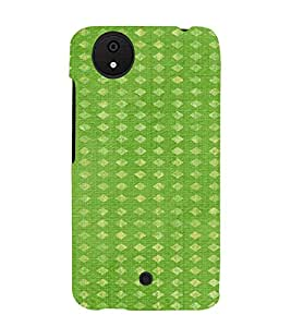 PrintVisa Bandhini Cloth Pattern 3D Hard Polycarbonate Designer Back Case Cover for Micromax Canvas Android A1