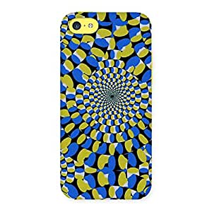 Delighted Classic Illusion Back Case Cover for iPhone 5C