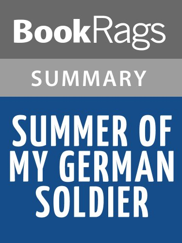 summer of my german soldier essay Free sample essay on summer of my german soldier 3.
