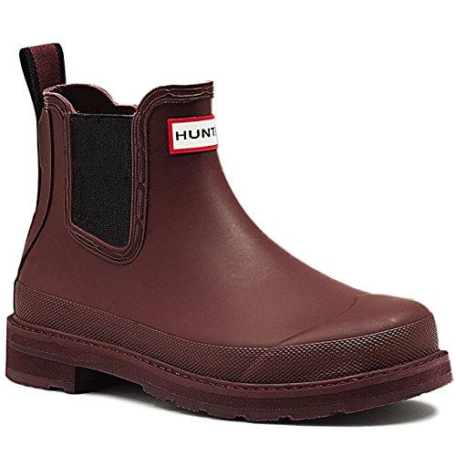 Womens Hunter Original Pulltab Lightweight Chelsea Winter Snow Boots - Umber - 9 - 40/41