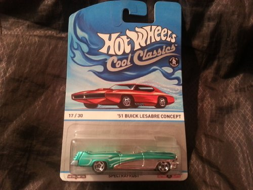 2013 Hot Wheels (Collector's Edition) Spectrafrost Cool Classics '51 Buick Lesabre Concept Metal / Metal Toy Car By Mattel (17/30) Retro Slots