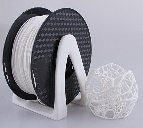 PLA Filament 3,00mm , 1kg Filament für 3D Drucker in der Farbe weiß von der Marke PRECORN