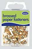 Pack of 40 Brassed Paper Fasteners