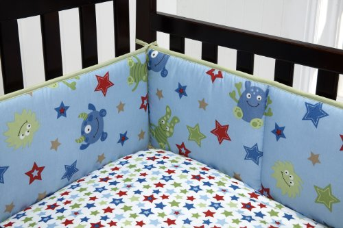 Little Bedding Traditional Padded Bumper - 1