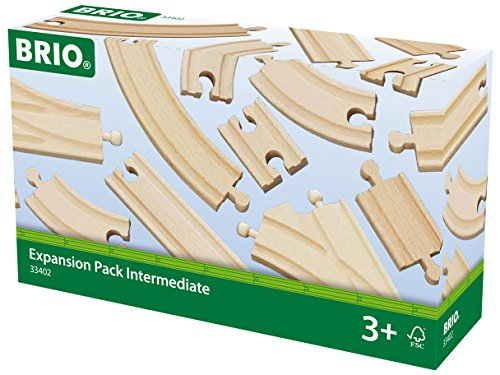 Brio - Pack de ampliación de vías mediano (33402)