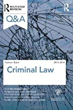 Q and A Criminal Law by Norman Baird