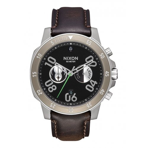 nixon-guardare-star-wars-jedi-in-pelle-marrone-uomo-nero-a940sw2377