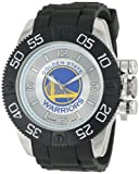 Game Time Men's NBA-BEA-GOL Beast Golden State Warriors Round Analog Watch at Amazon.com