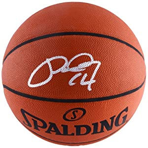 Paul George Indiana Pacers Autographed Authentic NBA Basketball - Memories - Memories... by Sports Memorabilia