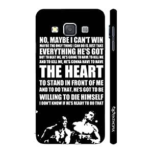 Enthopia Designer Hardshell Case Rocky's Speech 4 Back Cover for Samsung Galaxy A7 2015