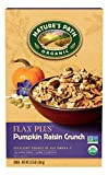 Nature's Path Organic Cereal, Flax Plus Pumpkin Raisin Crunch, 12.35 Ounce Box (Pack of 6)