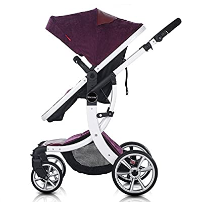 OLizee Luxury Newborn Baby Pram Infant Foldable Anti-shock High View Stroller Pushchair by OLizee that we recomend personally.