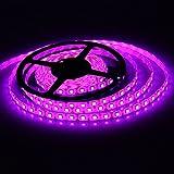 XKTTSUEERCRR 5M 16.4ft 5050 Green Waterproof 300 LED LEDs SMD Flexible LED Flash Lighting Lamp Strip Light Purple thumbnail