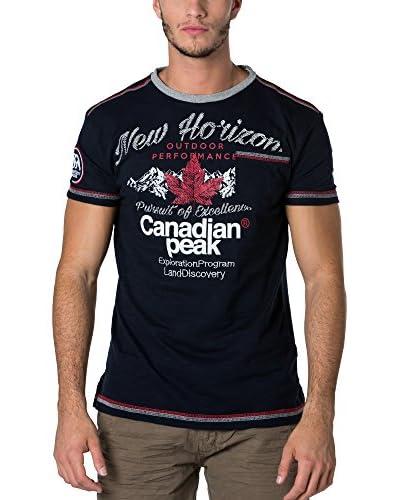 CANADIAN PEAK Camiseta Manga Corta Jartiste Azul Marino
