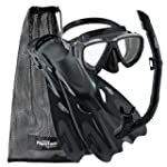 Phantom Aquatics Adult Mask Fin Snork...