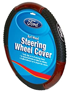 Ford Oval Logo Steering Wheel Cover