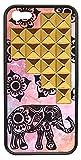wildflower ( ワイルドフラワー ) ロサンゼルス の ファッションリーダー キュート エレファント ピラミッド iphoneケース Elephant Gold Pyramid iPhone 5 5s Case ファブリック ゴールド スタッズ アイフォン ケース モバイル カバー apple iphone5 iphone5s 海外 ブランド
