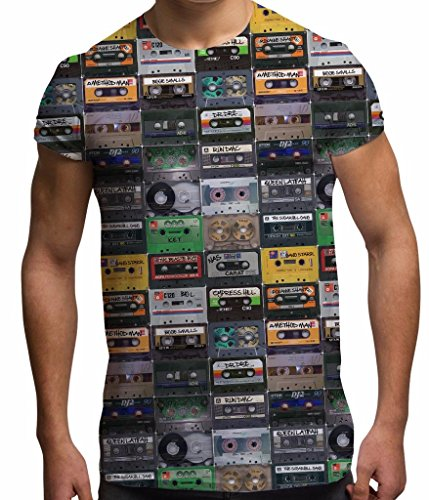 Men's Sublimation Cassette Tapes