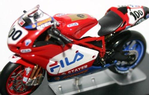 Ducati 999 Superbike 2003 Neil Hodgson Scale Model Race Motorcycle