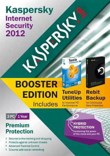 Kaspersky Internet Security 2012 Booster Edition, 3 users, 1 Year License (PC)