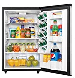 danby dar044a6bsldbo 44 cuft outdoor rated compact all refrigerator spotless steel