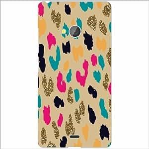 Microsoft Lumia 540 Dual SIM Back Cover - Silicon Small Prints Designer Cases