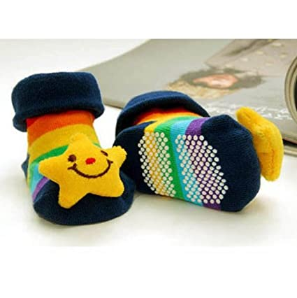 Baby Toddler Newborn 3D Cartoon Sock Slipper
