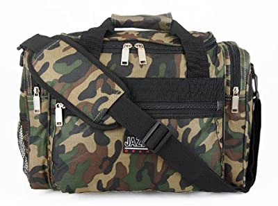 Mens Womens Boys Camouflage Travel Gym Weekend Flight Holdall Bag (Small/Large)