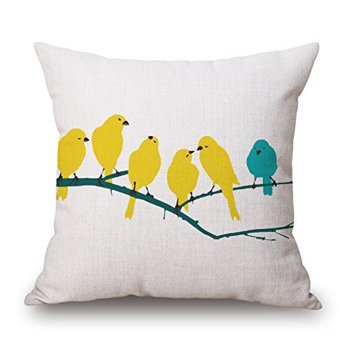gaxmi-bright-natural-print-cotton-linen-throw-pillow-yellow-birds