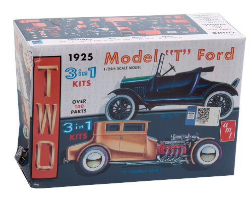 Round 2 AMT626 Round 2 - AMT 1/25 Scale 1925 Ford Model T Model Kit (Amt Model Car Kits compare prices)