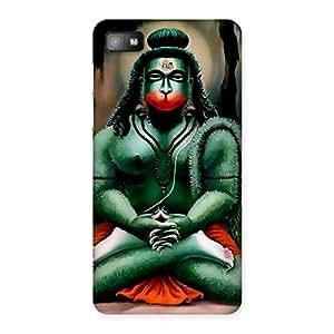 Premium Hanuman Ji Back Case Cover for Blackberry Z10