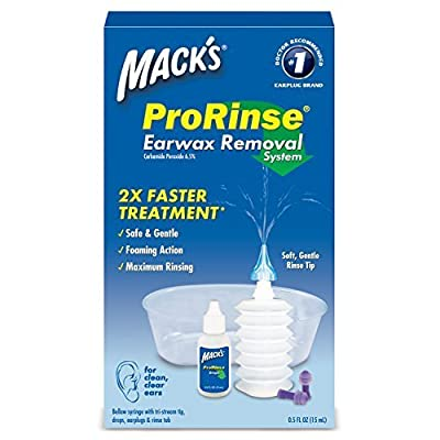 Macks Prorinse Earwax Removal Kit by Macks