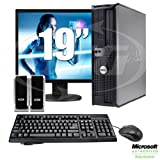 Dell Optiplex Desktop Computer Package - 2.8GHz Pentium 4 Procsesor - 2GB - 19 LCD - Windows 7 Home Premium (1 Year Warranty)