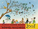 Rotraut Susanne Berners Wimmel-Kalender 2008 - Rotraut S Berner