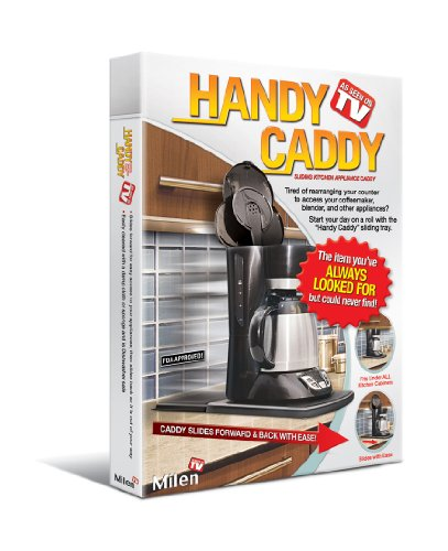 Handy Caddy Sliding Kitchen Under Cabinet Appliance Moving Caddy (Sliding Countertop Tray compare prices)