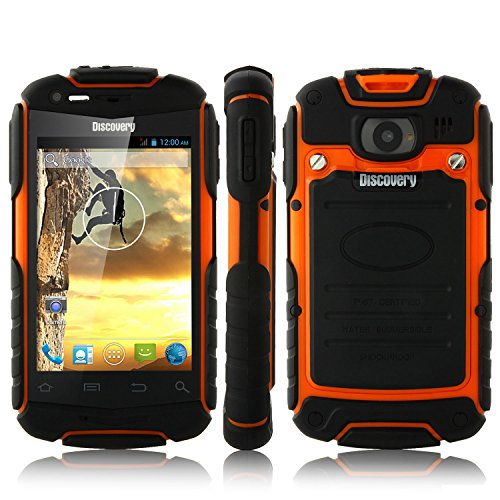 V5+ Smartphone Ip67 Android 4.2 Mtk6572W 3.5 Inch 3G Orange