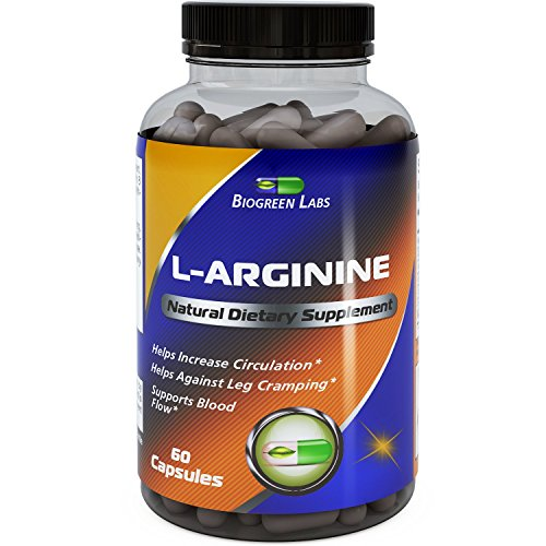 Purest L Arginine Supplement on the Market 60 Capsules ...