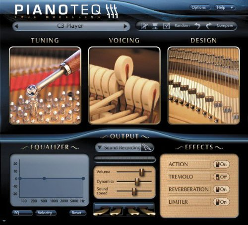 Modartt PIANOTEQ 3 Virtual Instrument Software