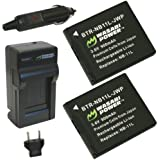 Wasabi Power Battery and Charger Kit for Canon NB-11L and Canon PowerShot A2300 IS, A2400 IS, A3400 IS, A4000 IS, ELPH 110 HS, ELPH 320 HS