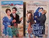 img - for Lot of 2 Zebra Regency Romance paperbacks: Fallen Angel; first printing May 1989, and The Scandalous Marquis; first printing Apr. 1990 book / textbook / text book