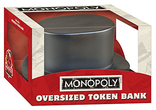 USAopoly Monopoly: Oversized Hat Token Bank - 1