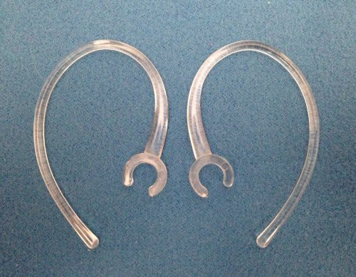 Sodial(R) 2 New Clear High Quality Ear Hooks For Plantronics Discovery 975 925 Modus Hm3500 Hm3700 Hm1000 Hm1100 Hm1700 Savor M1100 Marque M155 M100 Mx100 Bluetooth Headset Ear Loops Clips Stabilizers Earhooks Earloops Earclips Earstabilizers Replacement