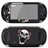 "atFoliX Designfolie ""Screaming Sound Black"" f�r Sony PlayStation Vitavon ""Designfolien@FoliX"""
