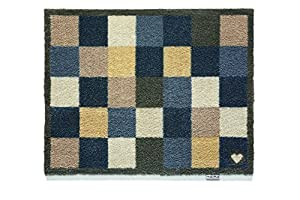 Hug Rug Check 12 Design Indoor Highly Absorbent Barrier Mat 65x85cm by Hug Rug
