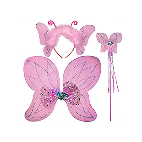 Butterfly Fairy Dress Up Set (More Colors...) Select Color: pink