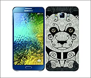Galaxy Printed 1798 Animal Swirl Panda Hard Cover for Samsung A5