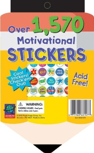 Eureka Die Cut Stickerbook - Pencil Learning Playground Sticker Book - 1