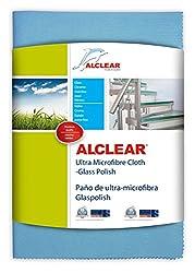 Alclear 820051UM Ultra Microfiber Cloth Glass Polish (Blue)