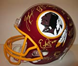 2013 Washington Redskins Team Autographed / Signed Riddell Full Size Football Helmet with 22 Signatures Total, Proof Photos