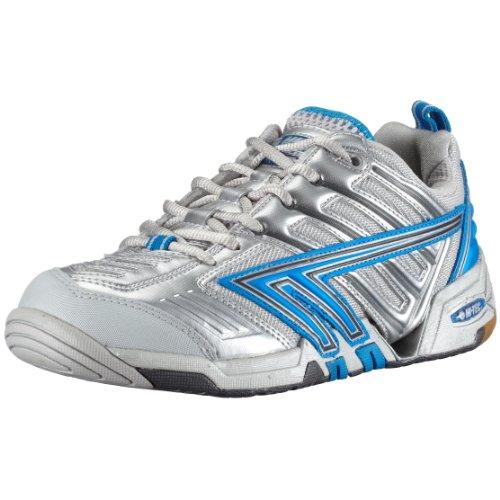 Hi-Tec Sports Women's 4sys Badminton Trainer Silver 16148-IO9 6 UK